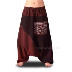 Pantalones Afganos de Algodón