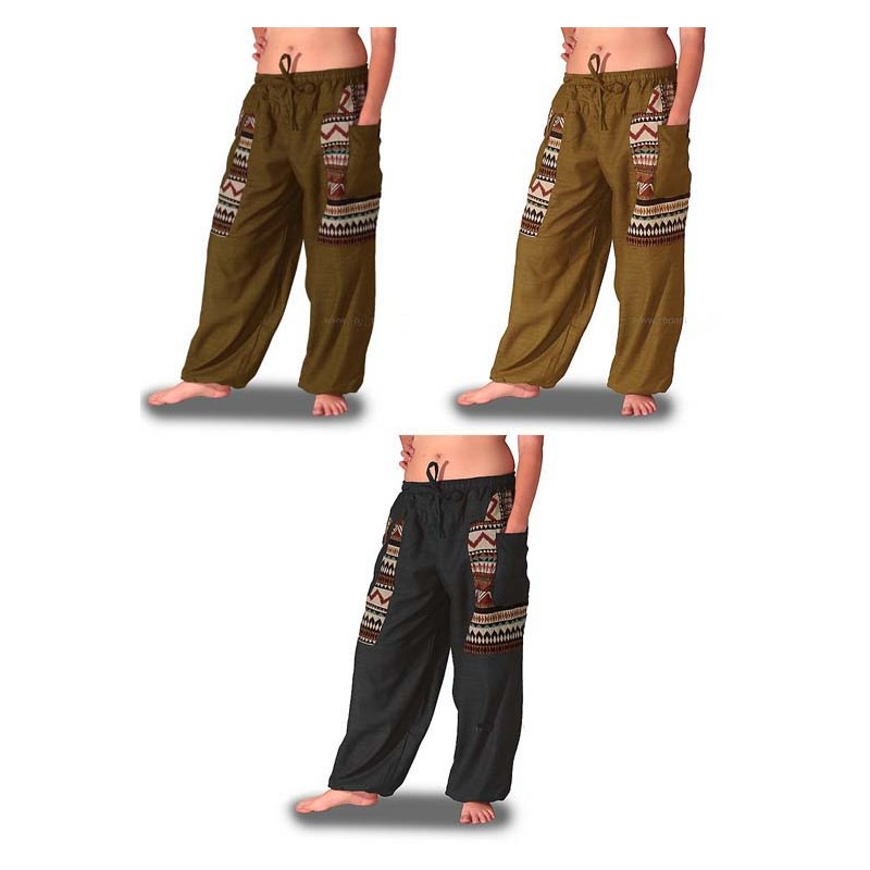 Pantalones bombachos étnicos