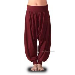 Pantalones turcos en colores lisos