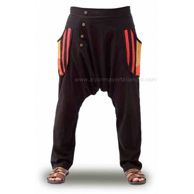 Pantalones Harem al mayor para hombre y mujer