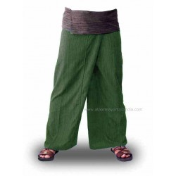 Pantalones tailandeses tipo pescador tradicional