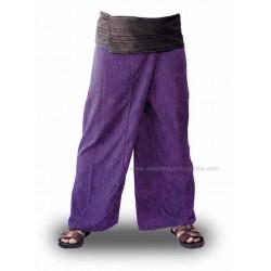Pantalones tailandeses baratos, color lila