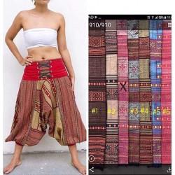 Pantalones afganos estampados
