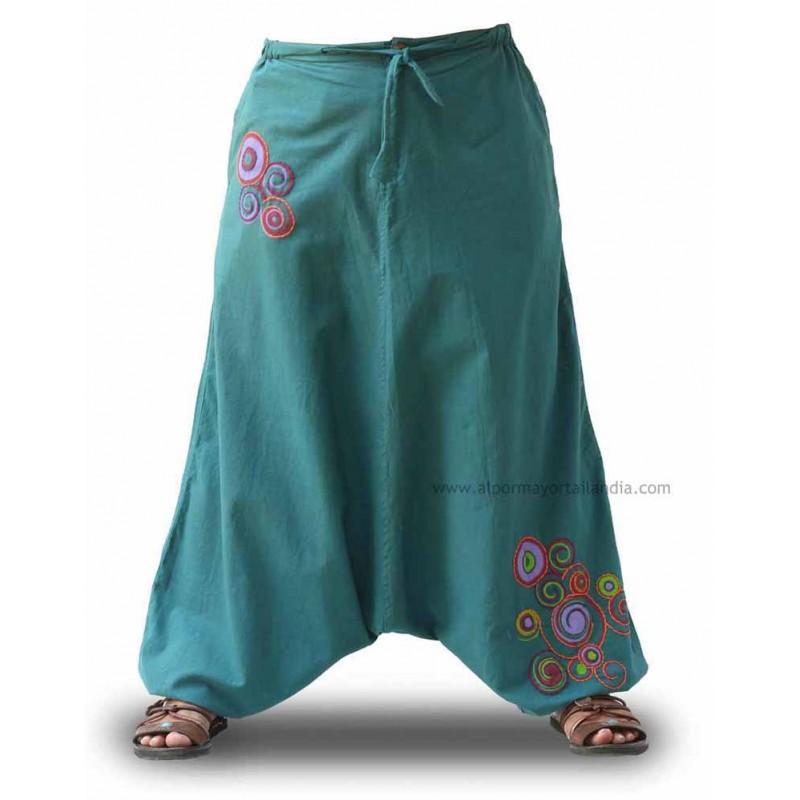 Pantalones afganos mujer