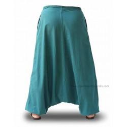 Pantalones afganos mujer, ropa alternativa