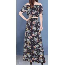Vestidos largos floreados por mayor
