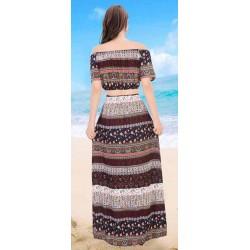 Vestidos largos estampados de verano