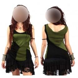 Blusas cortas mujer de ropa alternativa