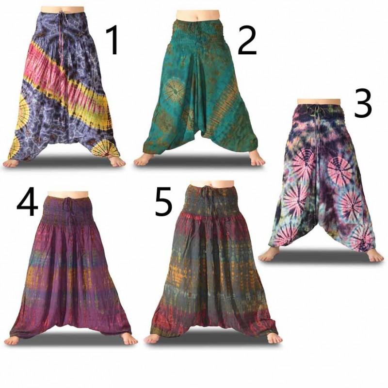Tie Dye Pantalones