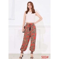 Pantalones Boho verano
